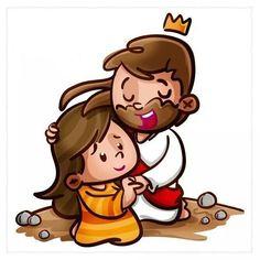 Jesus Christ Images, Jesus Art, My Jesus, Jesus Father, Jesus Cartoon, I Love You God, Bible For Kids, Kids Church, Bible Art