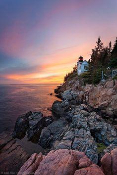 Bass Harbor Head Lighthouse - Arcadia National Park - Maine, USA