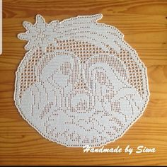 Zawieszki - Her Crochet Crochet Thread Patterns, Crochet Applique Patterns Free, Filet Crochet Charts, Beading Patterns Free, Crochet Christmas Wreath, Crochet Ornaments, Christmas Crochet Patterns, Crochet Carpet, Knit Or Crochet