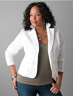 City Chic Smart Blazer Jacket - Women's Plus Size Fashion City ...
