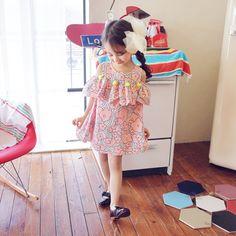 Stacy Tassel Dress - Pink, Navy