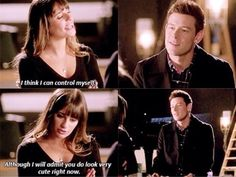 And he did look very cute indeed, FINCHEL<3