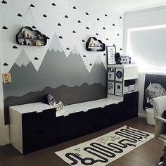"""These sweet little mini clouds allow you to get that """"wallpaper"""" look without the effort or expense! Quality removable vinyl wall art made in Australia. Customised to your decor."""