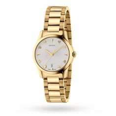 a1113442f1f Gucci G-Timeless Gold PVD Watch YA126576