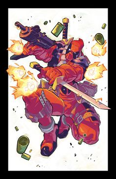 Deadpool - Matteo Scalera