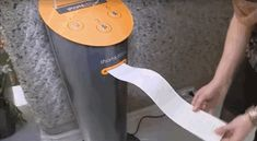 Orange vending machines at French train stations dispense short stories by young and aspiring writers.