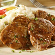 Pork Chop Diane