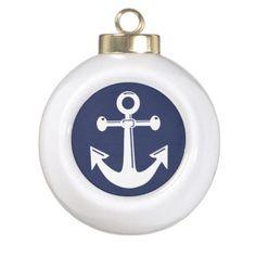 Nautical Christmas Ornaments Ball