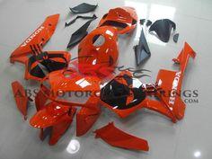 Orange & Black Skull 2005-2006 Honda CBR600RR Kings Motorcycle Fairings Black Skulls, Honda, Motorcycle, Orange, Biking, Motorcycles, Engine, Choppers, Motorbikes