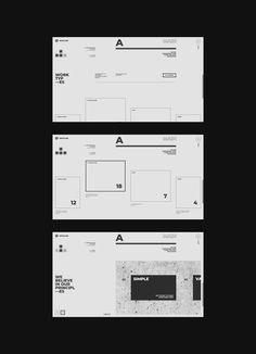 Zerøline — web on Behance Web Design Tips, Design Lab, Design Process, Flat Design, Layout Design, Design Ideas, Editorial Layout, Editorial Design, Title Block