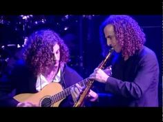 Kenny G and son Max G.❤