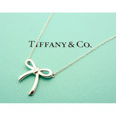 ribbon tiffany necklace ** but a sideways cross Tiffany Bracelets, Tiffany Necklace, Bow Necklace, Cute Jewelry, Jewelry Box, Jewelery, Jewelry Accessories, Jewelry Design, Bridesmaid Jewelry Sets