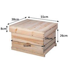 Chinese Bee Apis Mellifera 7 Frame Beehive Box Extension - Mega Save Wholesale & Retail - 5