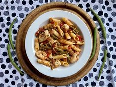 Kipfilet Toscana Penne, Healthy Recipes, Healthy Food, French Toast, Snacks, Meat, Chicken, Breakfast, Pizza
