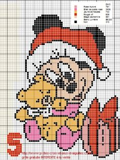 1000 images about cross stitch disney christmas on - Grille gratuite point de croix disney ...