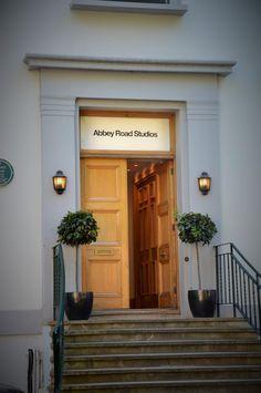 Abbey Road Studios (The Beatles recording studio) - London, England