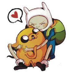 Jake and Finn