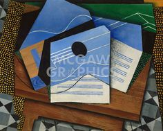 Guitar on a Table, 1915