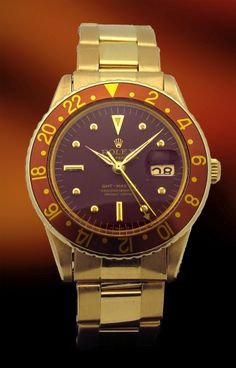 Early #Rolex 18kt #GMT-Master ref. 1675