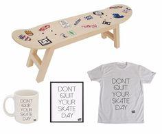Skateboards Section Complete Skateboard Pack Step stool Kids Furniture and Decor #skatehome #skate #skater #decoration #style #mug #tshirt #illustration #stickers #skateboarding