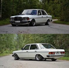 Mercedes Benz, Custom Mercedes, Old School Cars, Classic Mercedes, Honda, Tuner Cars, Bmw E30, Mustang Cars, Retro Cars