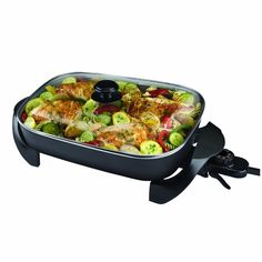 Black and Decker SK1215BC Family Sized Electric Skillet, Black >>> Click on the image for additional details.