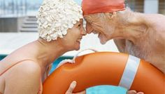 I love the water, but I love old people who still love each other even more.  Gives me hope for the future.
