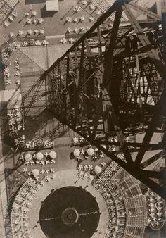 László Moholy-Nagy American, born Hungary, 1895–1946, Berlin Radio Tower created in 1928.Gelatin silver print