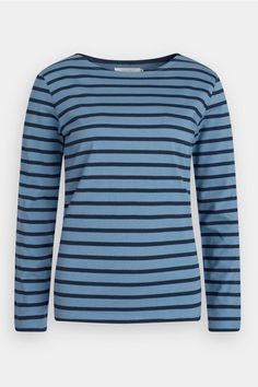 The Seasalt Sailor Shirt is our take on a classic women's Breton top. Made from organic cotton in colours inspired by Cornwall, it's a wardrobe essential. Breton Top, Sailor Shirt, Organic Cotton, Project 333, Colours, Sweaters, T Shirt, Clothes, Tops