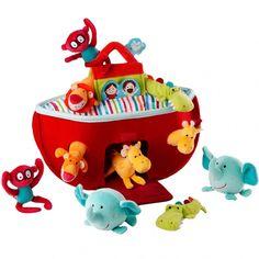 Arche de Noé de Lilliputiens pour que votre enfant s'amuse ... #archedenoélilliputiens #leslilliputiens #lilliputien #jouetlilliputiens #lilliputiensjouets #