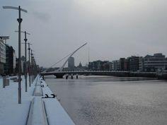 River Liffey & Calvatrava bridge