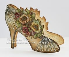 All Glammed Up Shoe Card by marisajob - Cards and Paper Crafts at Splitcoaststampers