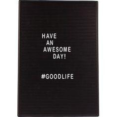 door Letter Board, Life Is Good, New Homes, Doors, Lettering, Interior Design, Retro, Day, Quotes