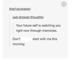 Well yea, but your memories are a whole lot different than how you actually experience life in that moment so also no