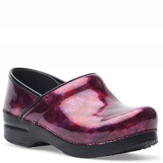 518302f51022 Dansko Professional Berry Patent - Family Footwear Center Leather Clogs
