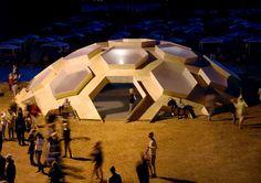 The Roskilde's Beautiful Geodesic Dome Looks Like a Tortoise i...