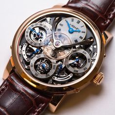 MBF -Legacy Machine Perpetual-Credits to The Horophile Red Gold