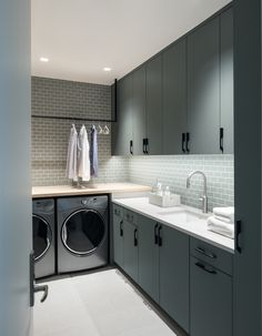 A Modern Homestead in Colorado, Laundry Room by Duet Design Group - Lookbook - Dering Hall