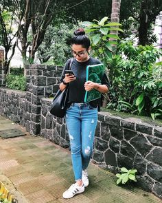 Follow Me Rishita Surve•̀.̫•́✧ Casual College Outfits, Casual Fall Outfits, Classy Outfits, Trendy Outfits, Summer Outfits, Fashion Wear, Modest Fashion, Fashion Outfits, Fasion