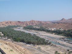 Beautiful wadi in Oman.