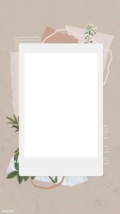 Paper Background Design, Powerpoint Background Design, Bg Design, Flower Graphic Design, Birthday Post Instagram, Happy Birthday Template, Ft Tumblr, Instagram Frame Template, Photo Collage Template