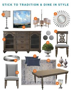 When MemeHill Studio designs it, you know it will be stunning. Pin her Traditional Dining Room, featuring Raymour & Flanigan products, for inspiration for your next makeover!