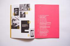 DMJX Annual Report by Maria Lyng, via Behance