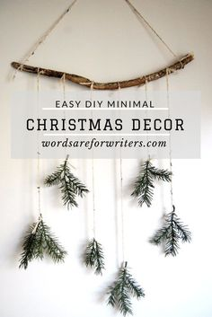 diy minimal christmas decor this week's post is a festive one! it's all about christmas decor. BUT it's diy minimal christmas decor! i'm sharing two diy christmas decorations Christmas Decoration For Kids, Diy Gifts For Christmas, Noel Christmas, All Things Christmas, Xmas Decorations, Diy Christmas Room Decor, Scandinavian Christmas Decorations, Modern Christmas Decor, Christmas Aesthetic