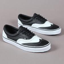 2a1f1565a0 Vans Leather Era Wingtip Leather Vans