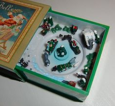 matchbox music box- I actually have one like this.