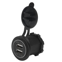5V 4.2A Cargador Dual USB Enchufe AdapterPower Salida para 12V 24V Coche Moto