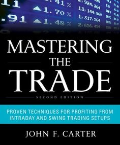 Bestseller Books Online Mastering the Trade, Second Edition: Proven Techniques for Profiting from Intraday and Swing Trading Setups John F. Carter $39.72  - http://www.ebooknetworking.net/books_detail-0071775145.html