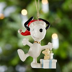 Christmas Morning SNOOPY™ Ornament by Lenox