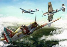 Batalla aérea sobre Francia - Quentin Rodriguez